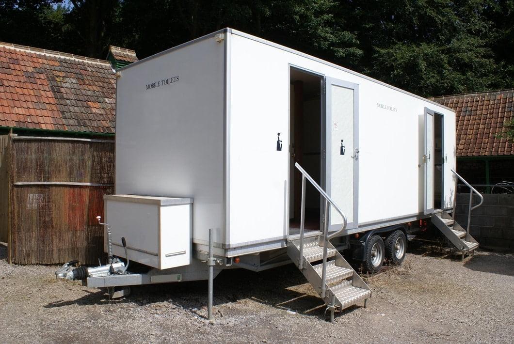Image of a luxury restroom rental in Greenville, SC